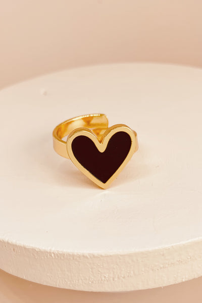 So much love ring black