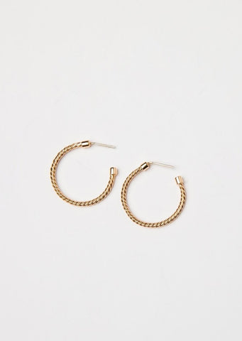 Spica Druzy Earrings Mini in White