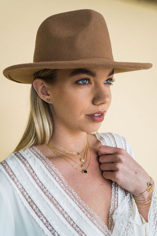 Texas Mini Necklace Gold