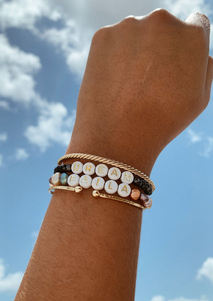 Classically Beaming bracelet