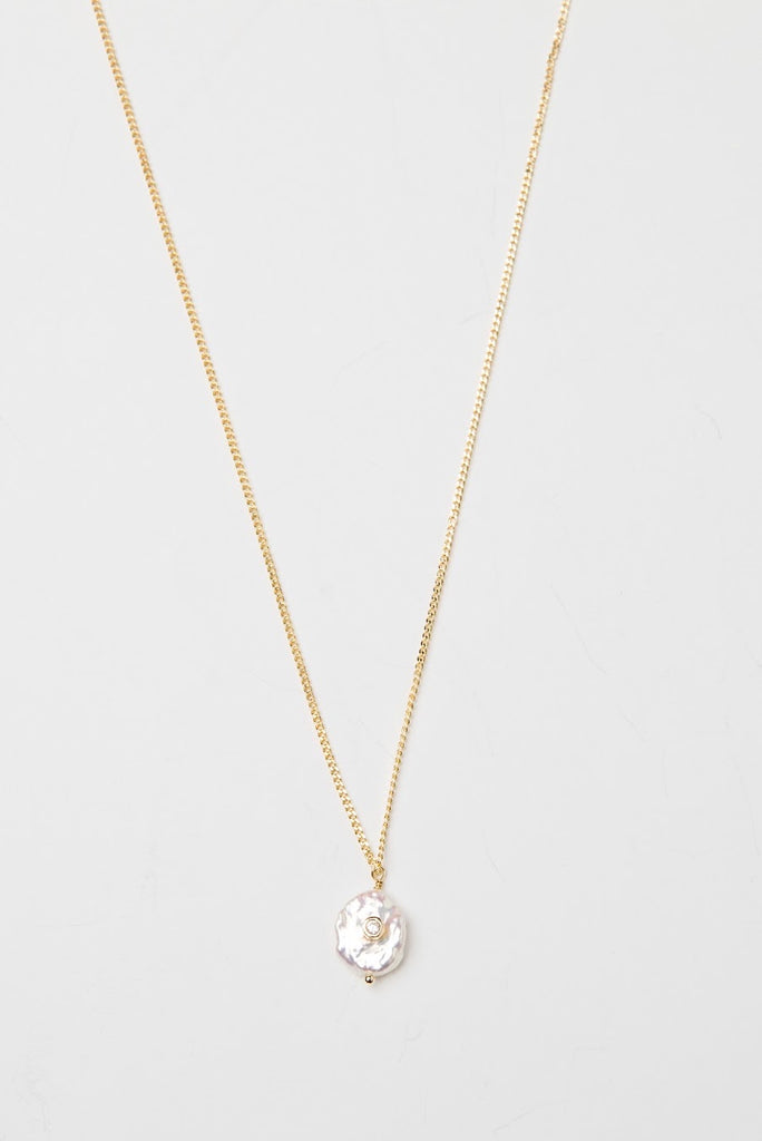 Pearl Cubic Necklace