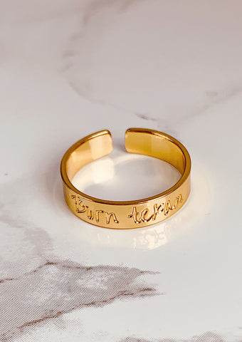 Unique and Empowered Ring