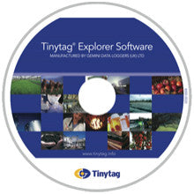 Tinytag Explorer Software + overføringskabel Cab-0007-USB