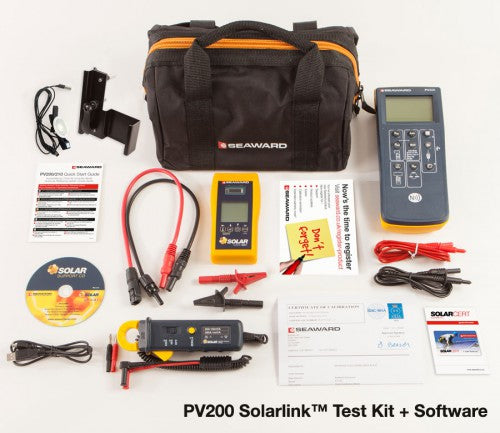 Solcelletester - SolarLink Test kit PV200