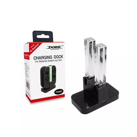 Dobe Square Charging Stand for Nintendo Switch Joy-Con - GameShop Malaysia