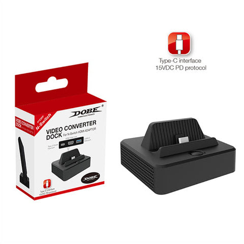 Dobe Video Converter Dock for Nintendo Switch - GameShop Malaysia