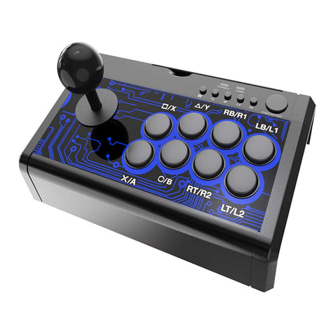 Dobe 7-in-1 Arcade Fighting Wired Joystick - GameShop Malaysia