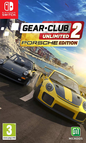 Gear Club Unlimited 2 Porsche Edition (Nintendo Switch) - GameShop Malaysia