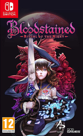 Bloodstained: Ritual of the Night (Nintendo Switch) - GameShop Malaysia