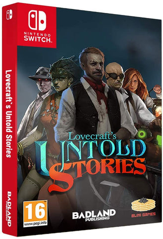 Lovecraft's Untold Stories Collector's Edition (Nintendo Switch) - GameShop Malaysia