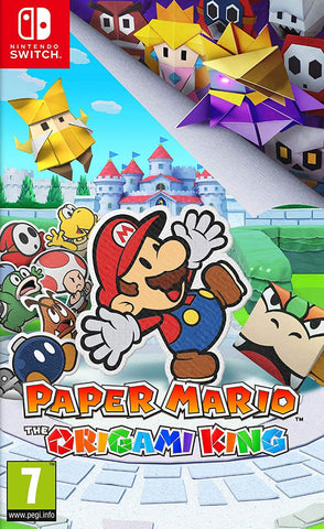 Paper Mario: The Origami King (Nintendo Switch) - GameShop Malaysia