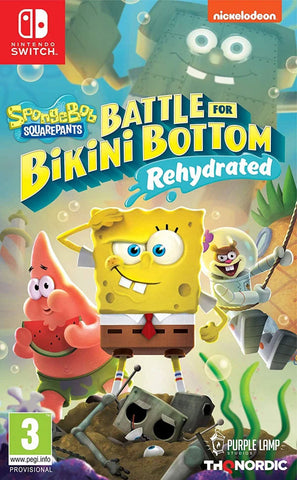 SpongeBob Squarepants: Battle for Bikini Bottom Rehydrated (Nintendo Switch) - GameShop Malaysia