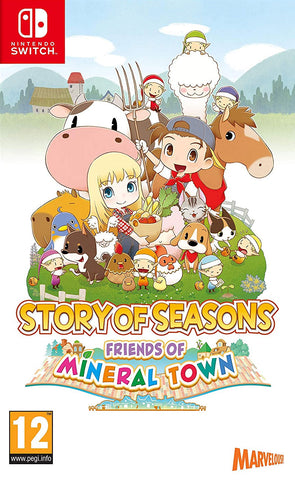 Story of Seasons: Friends of Mineral Town (Nintendo Switch) - GameShop Malaysia