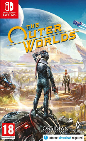 The Outer Worlds (Nintendo Switch) - GameShop Malaysia