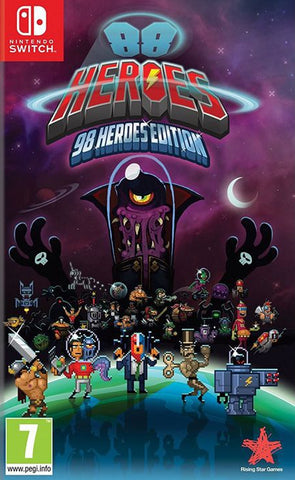88 Heroes 98 Heroes Edition (Nintendo Switch) - GameShop Malaysia