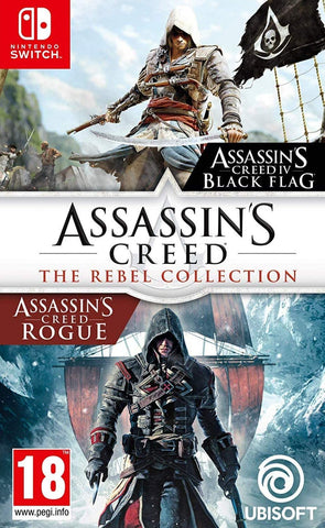 Assassin's Creed: The Rebel Collection (Nintendo Switch) - GameShop Malaysia