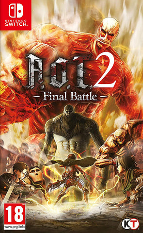 Attack on Titan 2 Final Battle (Nintendo Switch)