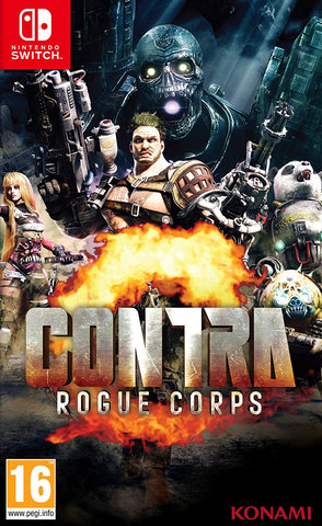 Contra: Rogue Corps (Nintendo Switch) - GameShop Malaysia