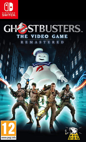 Ghostbusters The Video Game Remastered (Nintendo Switch) - GameShop Malaysia