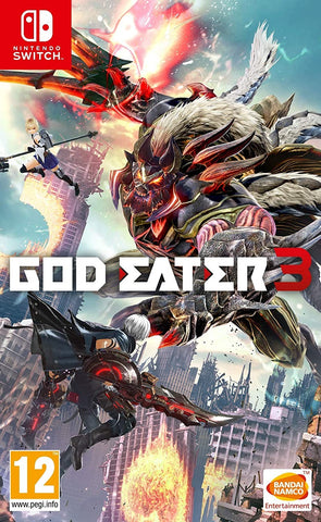 God Eater 3 (Nintendo Switch) - GameShop Malaysia