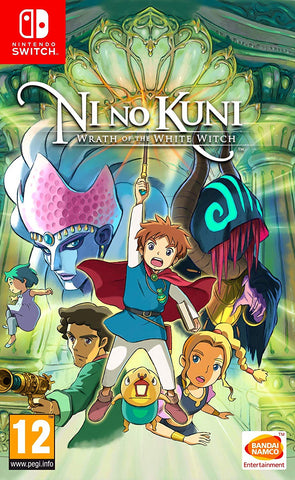 Ni No Kuni: Wrath Of The White Witch (Nintendo Switch) - GameShop Malaysia