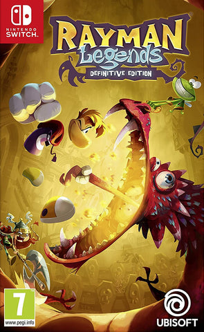 Rayman Legends Definitive Edition (Nintendo Switch) - GameShop Malaysia