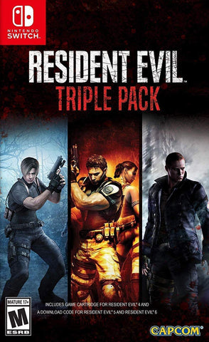 Resident Evil Triple Pack (Nintendo Switch) - GameShop Malaysia