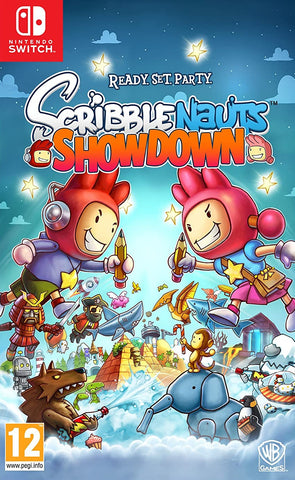 Scribblenauts Showdown (Nintendo Switch) - GameShop Malaysia