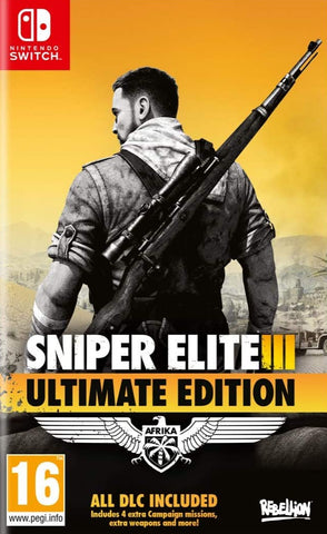 Sniper Elite 3 Ultimate Edition (Nintendo Switch) - GameShop Malaysia