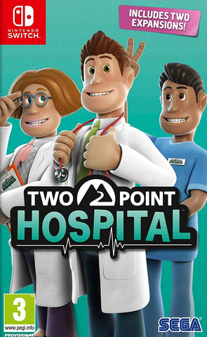 Two Point Hospital (Nintendo Switch) - GameShop Malaysia