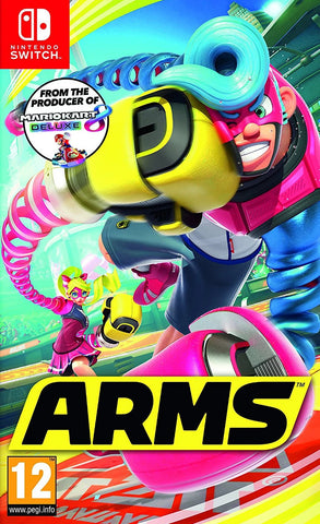 ARMS with Joy-Con Controller Pair Grey Bundle (Nintendo Switch)