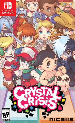 Crystal Crisis (Nintendo Switch) - GameShop Malaysia