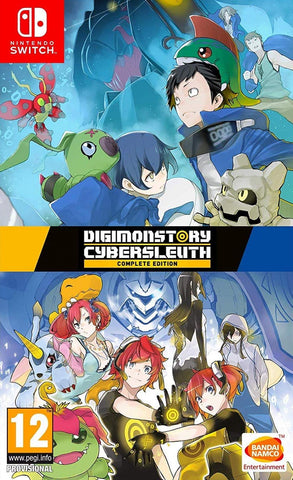 Digimon Story Cyber Sleuth Complete Edition (Nintendo Switch) - GameShop Malaysia