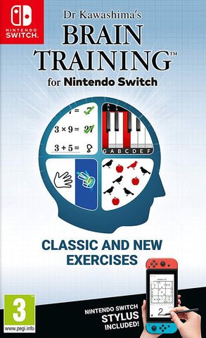 Dr Kawashima's Brain Training (Nintendo Switch) - GameShop Malaysia