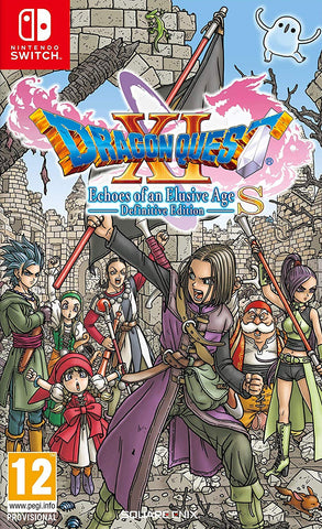 Dragon Quest XI S: Echoes of an Elusive Age Definitive Edition (Nintendo Switch) - GameShop Malaysia