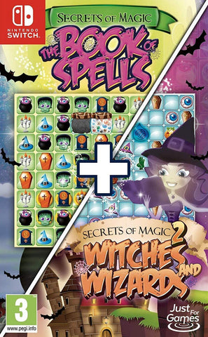 Secrets of Magic 1 and 2 (Nintendo Switch) - GameShop Malaysia