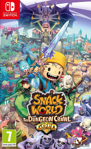 Snack World: The Dungeon Crawl Gold (Nintendo Switch) - GameShop Malaysia
