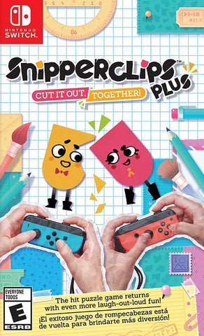 Snipperclips Plus: Cut it out, Together! (Nintendo Switch) - GameShop Malaysia