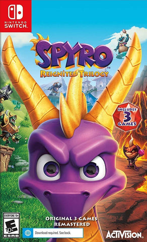 Spyro Reignited Trilogy (Nintendo Switch) - GameShop Malaysia