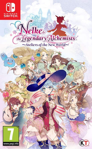 Nelke & The Legendary Alchemists: Ateliers of The New World (Nintendo Switch)