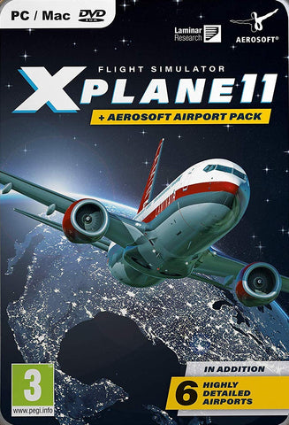 X-Plane 11 with Aerosoft Airport Collection (PC)