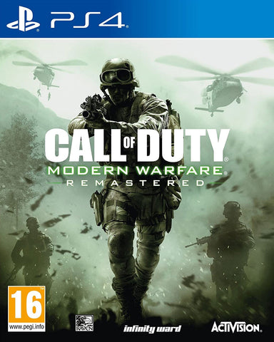 Call of Duty Modern Warfare Remastered (PS4) - GameShop Malaysia