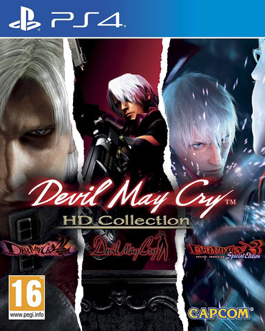 Devil May Cry HD Collection (PS4) - GameShop Malaysia