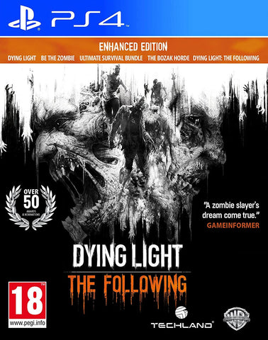 Dying Light: The Following Enhanced Edition (PS4) - GameShop Malaysia