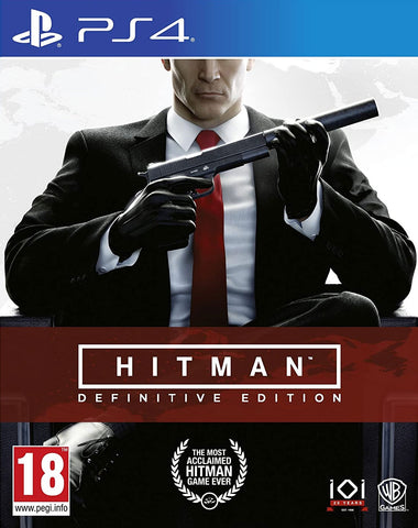 Hitman Definitive Edition (PS4) - GameShop Malaysia