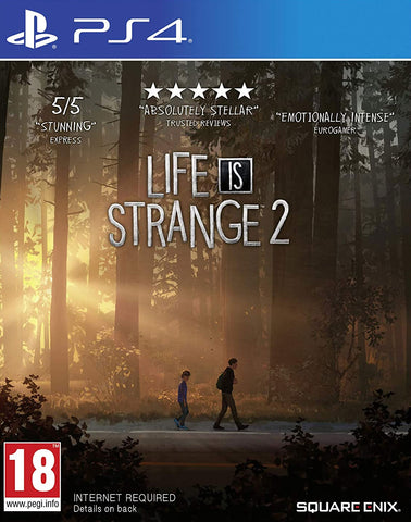 Life is Strange 2 (PS4) - GameShop Malaysia