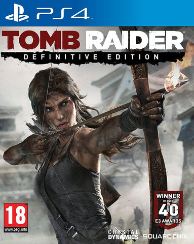 Tomb Raider Definitive Edition (PS4) - GameShop Malaysia