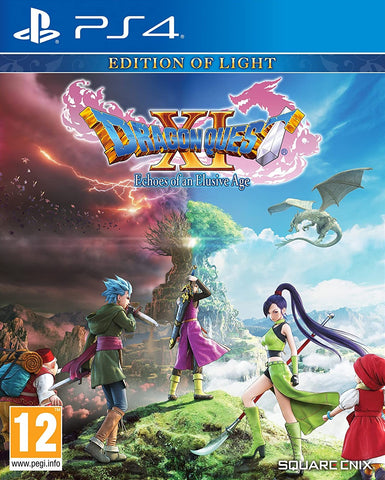 Dragon Quest XI: Echoes Of An Elusive Age (PS4) - GameShop Malaysia