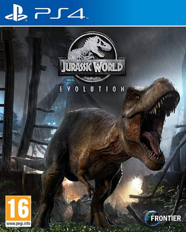 Jurassic World Evolution (PS4) - GameShop Malaysia