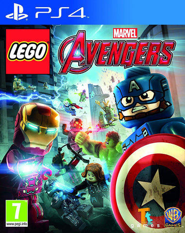 LEGO Marvel Avengers (PS4) - GameShop Malaysia